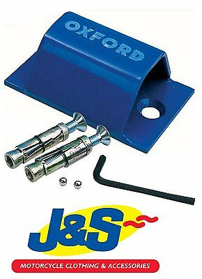 Oxford Of439 Brute Force Ground Anchor Motorbike Motorcycle Security New J&s