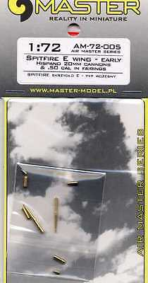 Master Model 1//72 Spitfire E Wing Late Hispano 20mm cannons AM72006