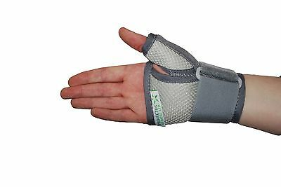 Breathable Mesh Wrist Thumb Support Brace Splint Medical Stabiliser Arthritis