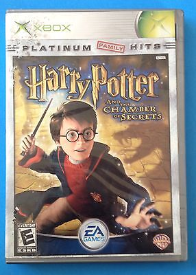 Harry Potter and the Chamber of Secrets COMPLETE! ! (Microsoft Xbox, 2002)
