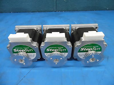 Lot Of 3 Sanyo Denki Stepsyn Stepping Motor Type: 103H7822-1710 4A 1.8/Step