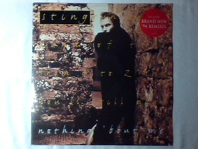 "STING Nothing 'bout me 12"" FRANCE POLICE"