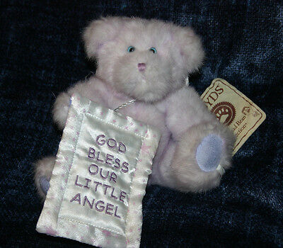 Boyds Bear Lil Angel God Bless Our Little Angel Baby