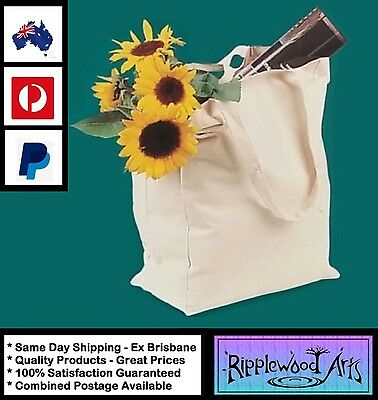 Arty's Quality 100% Cotton Canvas Tote Bag - Ideal Painting Project
