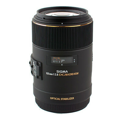Sigma 105mm F2.8 Macro Ex Dg Os Hsm Nikon Digital Slr Camera Fit