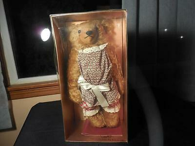 Vintage 1993 Dean's Deans Rag Book 90th Ann Miss Bruno Ltd Edition Bear MIB NOS