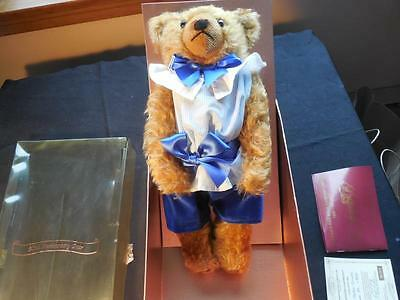 Vintage 1993 Dean's Deans Rag Book 90th Ann Master Bruno Ltd Edition Bear MIB