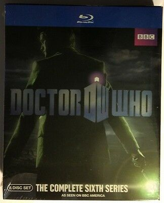 DOCTOR WHO: Complete Sixth Series NEW SEALED BLU-RAYS!!