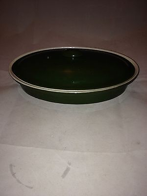Hall China 761 Green Covered Dish with Lid