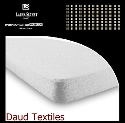 New Terry Towel Waterproof Mattress Protector Single,double & King Sizes