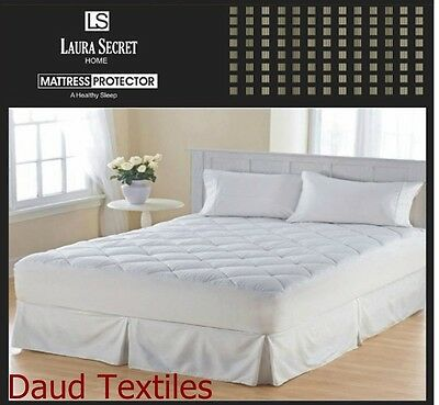 Quilted Mattress Protector Single,Double & King Bed Sizes