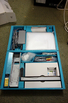 Nintendo Wii White Console (NTSC) with 2 Games and Extra Accessories
