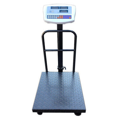 500KG Heavy Duty Digital Postal Parcel - 500 KG Platform Scales With Bracket