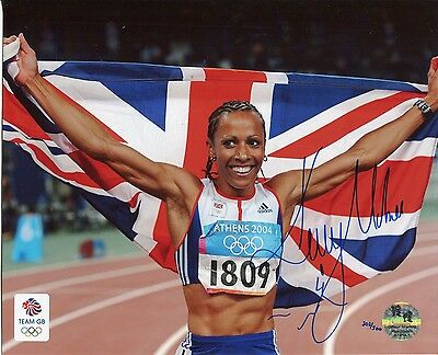 Official Team GB Olympics Limited Edition signed photo: Kelly Holmes