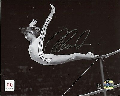 Official Team GB Olympics Limited Edition signed photo: Nadia Comaneci