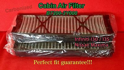 C16112 Charcoal Carbonized Cabin Air Filter Maxima 2000-03  I30 2001 / I35 02-04