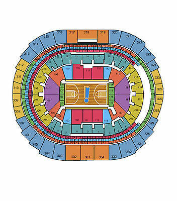 4 Los Angeles Lakers vs New Orleans Pelicans 4/1/15 on the aisle
