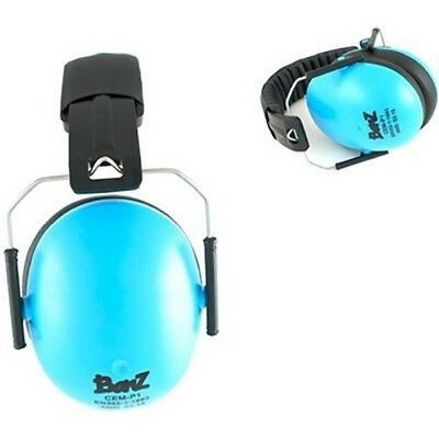 NEW Baby Banz blue Earmuffs Soft Cup baby Ear muffs kids babies infant hearing