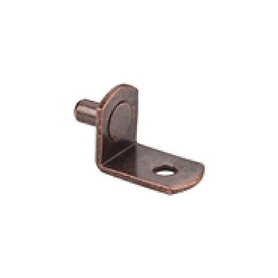 """60 5MM Angled Shelf Support With 1/8"""" Hole Finish: Antique Copper Model 1707AC"""