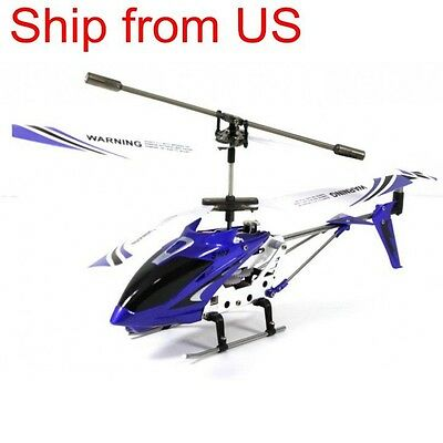 Genuine Syma S107 Remote controlled 3CH RC Helicopter with Gyroscopee Blue