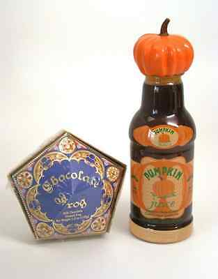 Wizarding World Of Harry Potter  HoneyDukes CHOCOLATE FROG & PUMPKIN JUICE Combo
