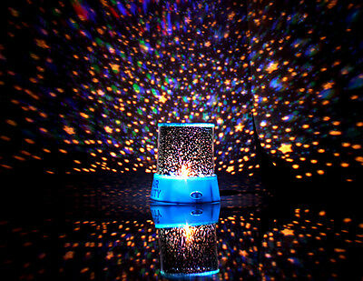 Color-changing Star Beauty Starry Sky Projector Night Light Rotating Star Lamp