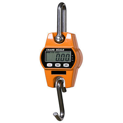 300KG Crane Scales Electronic Digital Portable Hanging Crane Scales LCD Display