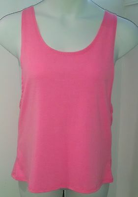 sExY PLUS Tank Top 1x XL NEON Gym LOOSE FIT fLiRtY LAYER Swim Cover Up CuTe!!