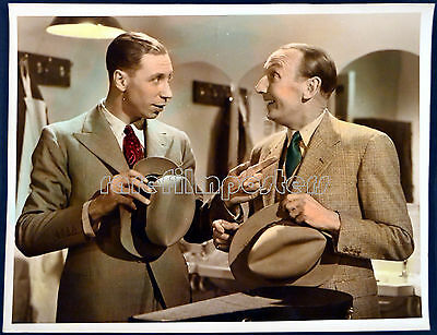 TROUBLE BREWING 1939 George Formby, Googie Withers EALING STUDIOS LOBBY SET