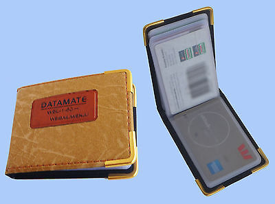 POCKET CREDIT CARD / BUSINESS CARD HOLDER - 60 POUCHES