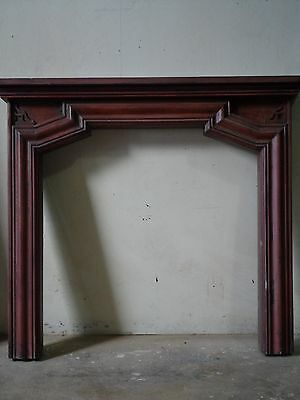 Crackle Finish Fireplace Mantel FM-B