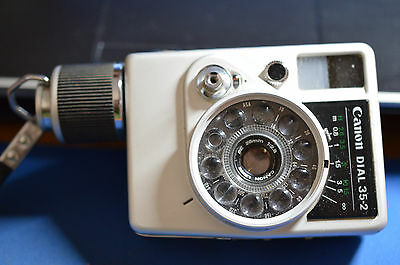 Canon Dial 35 2 35mm Point & Shoot Film Camera