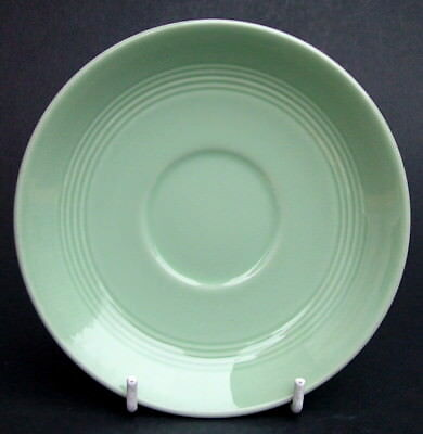 Vintage 1950 - 70's Woods Green Beryl Pattern Sm Coffee Cups & Saucers in VGC