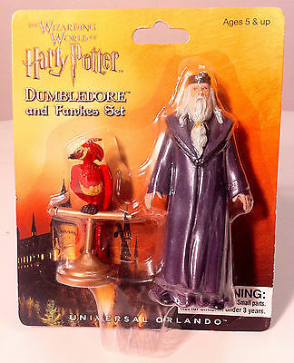 Wizarding World Of Harry Potter DUMBLEDORE & FAWKES 2 pack FIGURE SET Universal