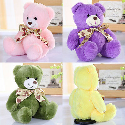 100% Cotton Gift For Baby Stuffed Plush Cute Teddy Bear Soft Doll Baby Toy 20cm