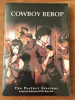 Cowboy Bebop The Perfect Sessions 3 Disc DVD