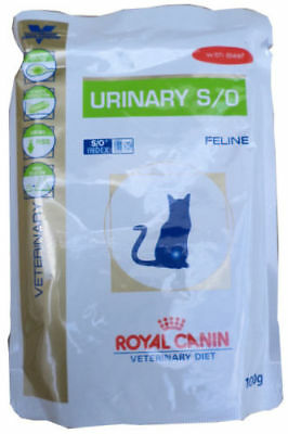 72x100g Royal Canin Urinary Beef S/O Frischebeutel  Diet