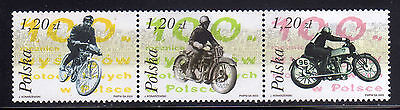 POLONIA/POLAND 2003 MNH SC.3697 Motorcycle Racing in Poland Cent.