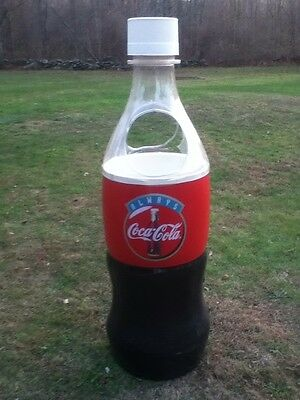 Large 5 ft. 5 In. Coca Cola Cooler Ice Chest Coke Bottle Store Display