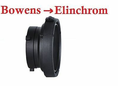 Adapter for Bowens Flash Head Fit Elinchrom Softbox Snoot Beauty Dish Studio