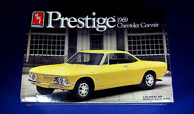 AMT 1969 Chevrolet Corvair 1/25 Scale Model Kit #6773 FACTORY SEALED! Keeper!