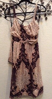 Anthropologie Weston Wear Nylon Sundress Dress Size Medium Euc