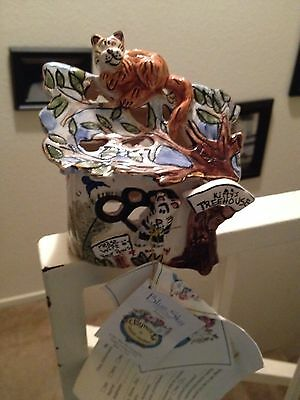 Authentic Ceramic Art Collectable From Clayworks By Heather Goldminc
