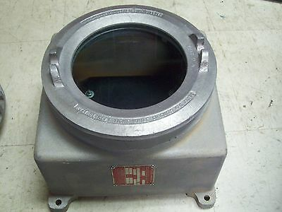Crouse Hinds Explosion Proof Meter Instrument Housing Gub-319-1-02 Glass Front