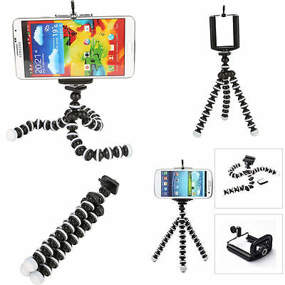 Large Flexible Octopus Tripod Stand Grip Phone Holder For Iphone GoP Camera DV