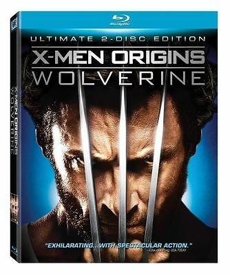 X-Men Origins: Wolverine (Blu-ray Disc, 2009) with slipcover