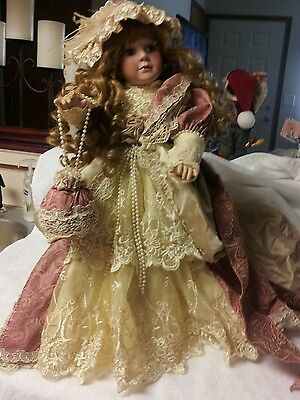 JANIS BERARD DOLL 3988/7500....20 INCHES TALL