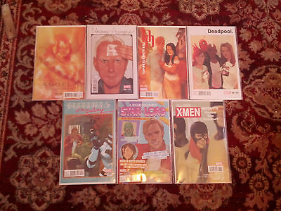 7x NOTO covers x-men star lord gotg deadpool daredevil avengers angela MARVEL