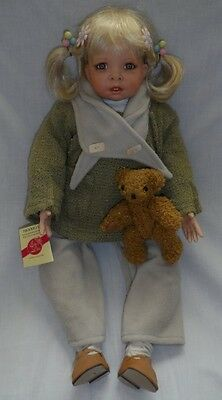 """""""Nicole"""" Porcelain Juvenile Collectible Doll – Elly Knoops"""