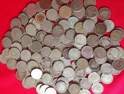 ✯ (5) Liberty Nickels FULL DATE ✯ Classic Old U.S. Coin 1883-1912 ✯Antique Money